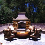 Landscape Outdoor Fireplaces